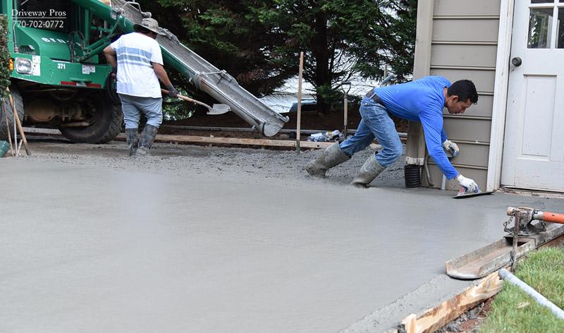 Concrete Driveway Johns Creek Ga Driveway Replacement