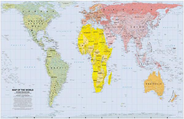 cartina-mondo - Vides
