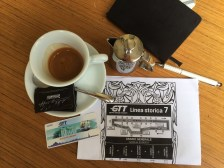 Kaffeepause in Turin