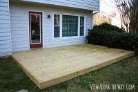 PDF DIY Build Wood Deck Over Concrete Patio Download ...