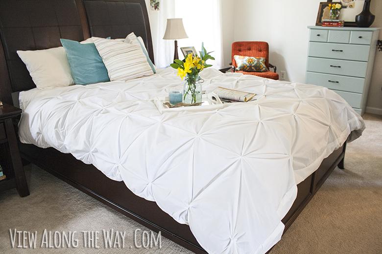 Tutorial How To Make A Diy Pintuck Duvet Cover
