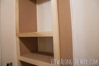How to build custom closet shelves - * View Along the Way