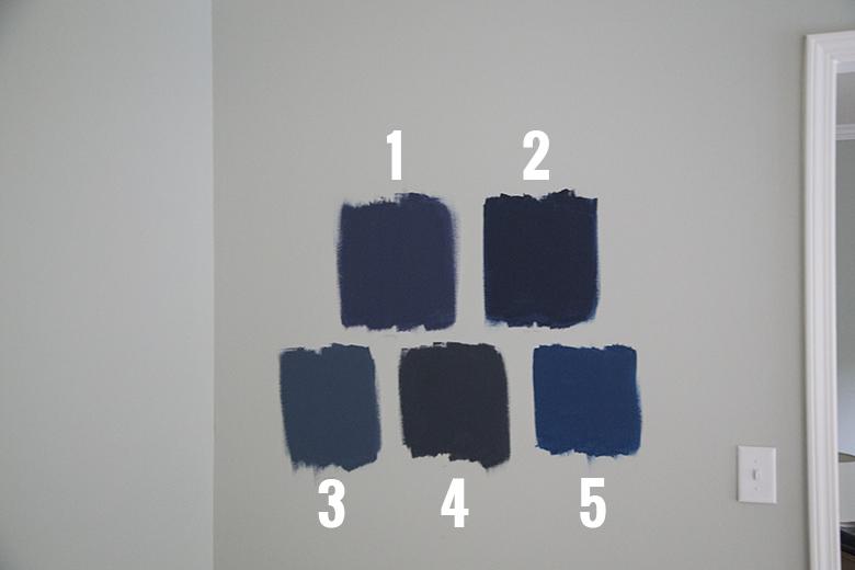 Best Navy Blue Paint Colors