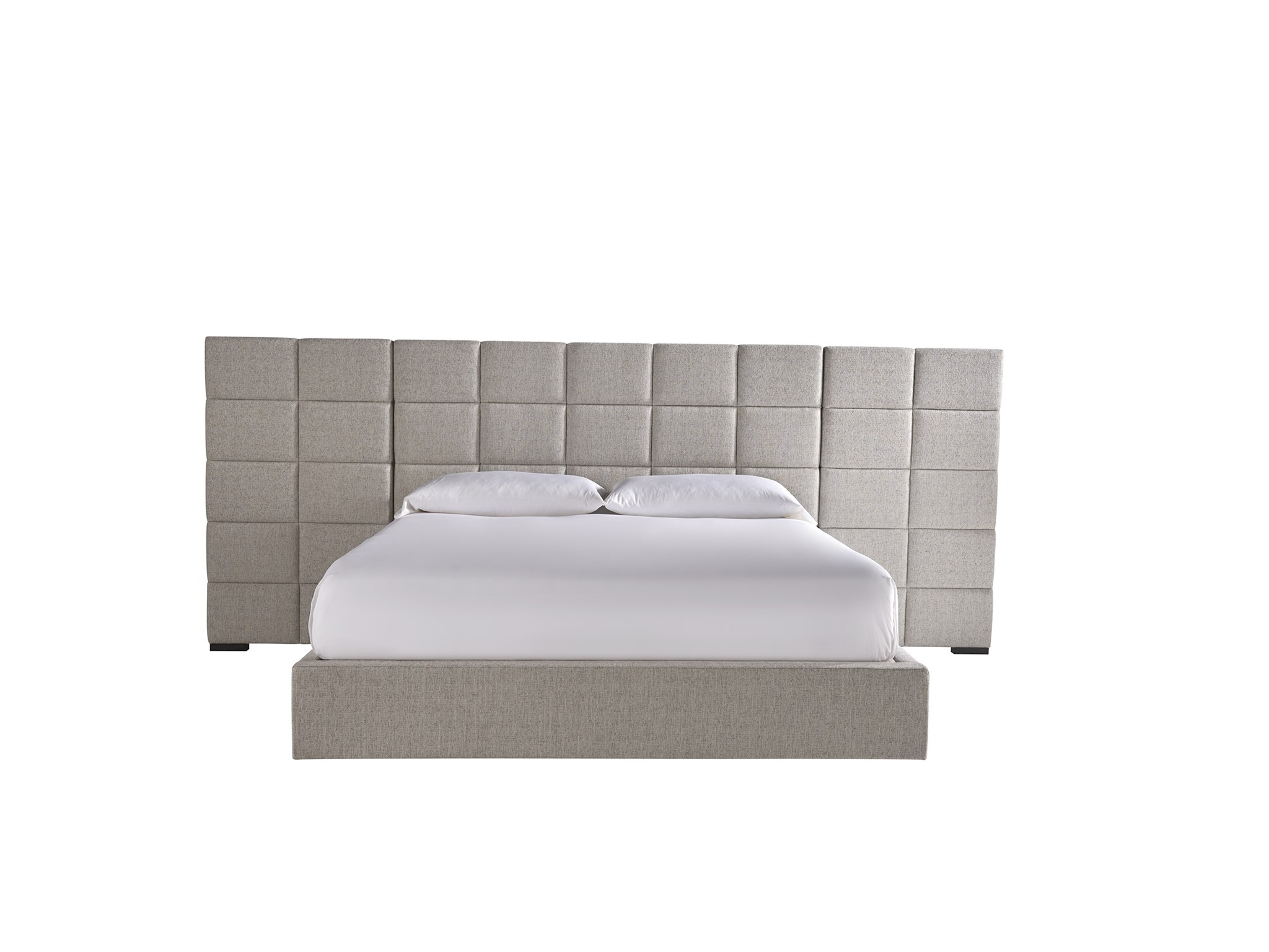 Universal Furniture Modern Bacall King Bed With Wall
