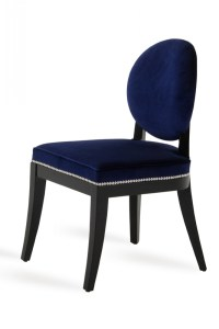 Isabella - Modern Blue Dining Chair (Set of 2) - Dining ...