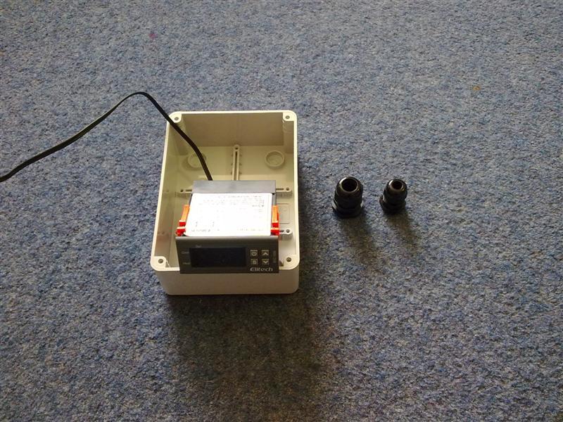 110 Block Enclosure Wiring Diagram Stc1000 Temperature Controller Build
