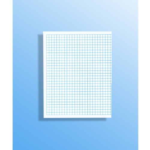 55 1/4 Inch Graph Paper - Sheet size 85\