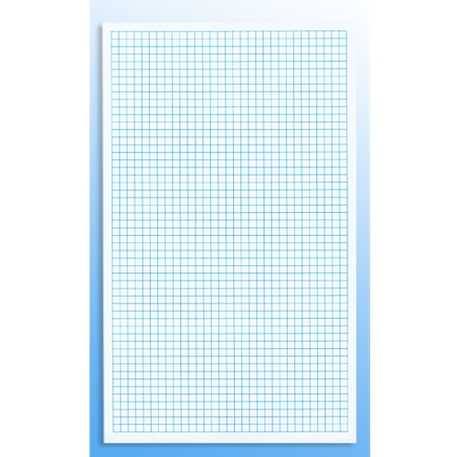 55C Full Size 1/4 Inch Graph Paper - Sheet Size 85\