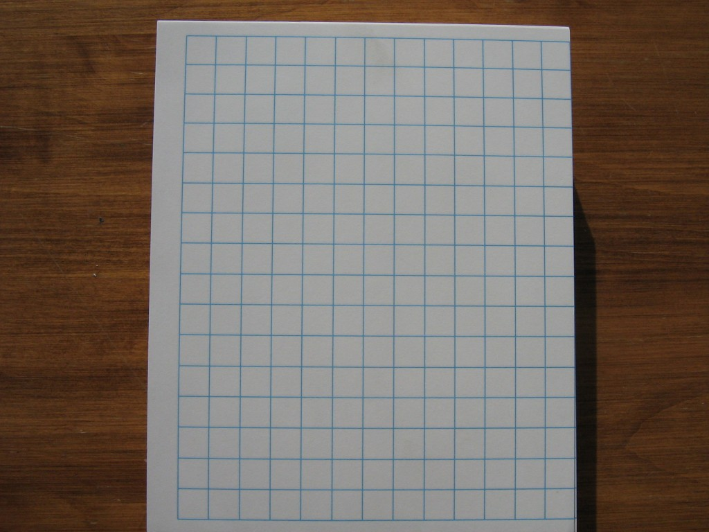 5 by 5 graph paper