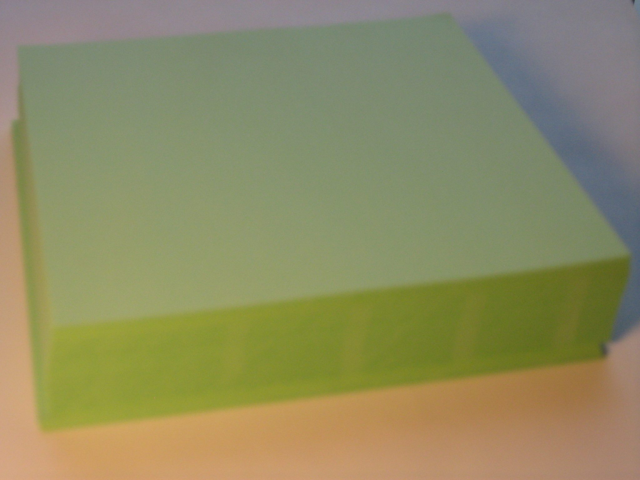 49g Green Metal Inset Paper 55 X 55 250 Sheets Pkg