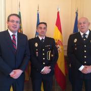 Barelles rep el nou Comissari de la Policia Nacional a Vila-real