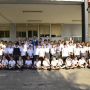 Benlloch visita els alumnes de tercer de primària de la Consolació