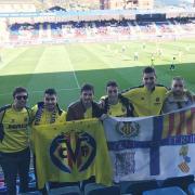 'Gent del Terme' a Eibar, defensant al Villarreal