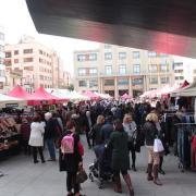 La plaça Major es convertirà en un centre comercial a l'aire lliure el diumenge amb la cinquena Fira Outlet