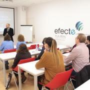 40 persones amb diversitat funcional es formen en creació d'empreses i neteja en dos cursos homologats del Servef