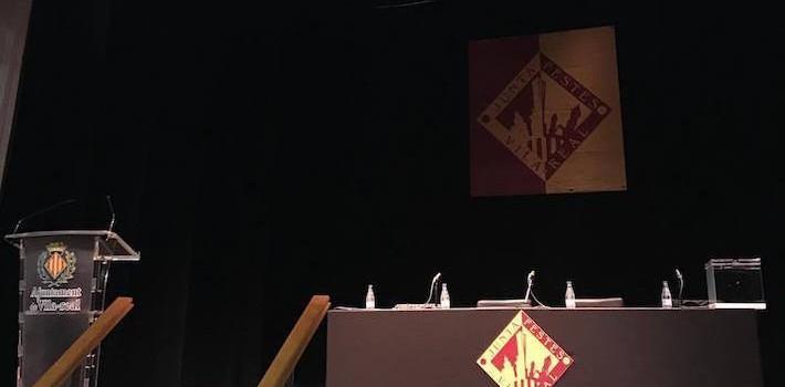 Gemma Font, Gloria Manrique, Lydia Estepa, Cristina Pesudo i Andrea Ayén conformen la Cort d'Honor del 2018