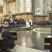 Dijous sant porta a la ciutat la celebració del Sopar del Senyor en l'església Arxiprestal