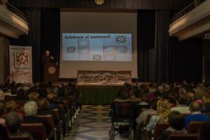 Carlos Amigo imparteix una conferència amb motiu del centenari de la fundació de Joventut Antoniana