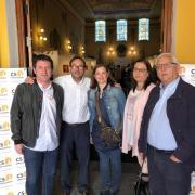 La tertúlia de Vila-real Informació i Castellón Información reuneix a polítics de tota la província