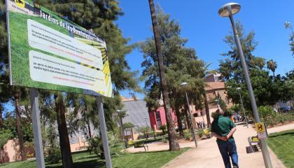 Vila-real signa amb la Caixa Rural el préstec de cinc milions que liquida el conveni amb les dominiques pel jardí