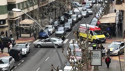 Una moto atropella a dos xiquets en l'Avinguda Francesc Tàrrega