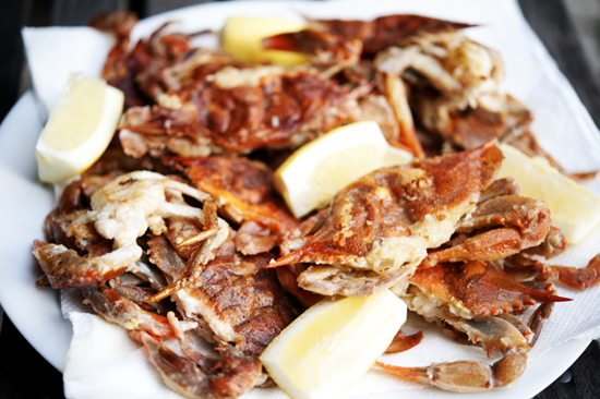 Soft-Shell Crabs are here!!!