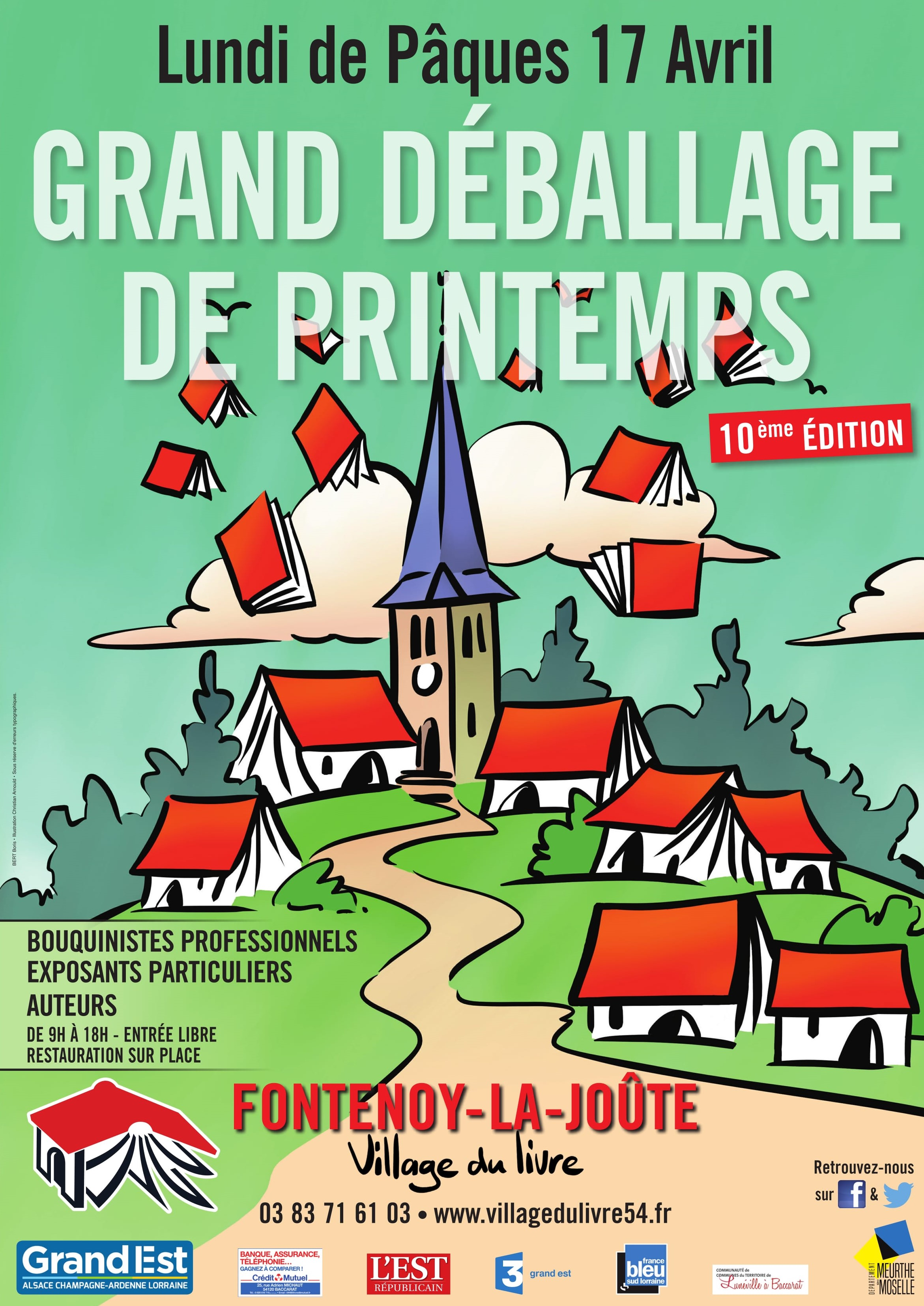 Grand Déballage de Printemps – Lundi de Pâques 17 avril