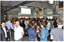 Networking at Webcom 2010