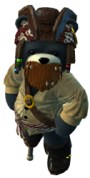 Naughty Bear Pirate