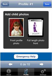 Child Alert Add Photos