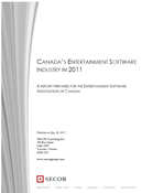 ESAC 2011 Report on the Canadian Entertainment Software Industry PDF