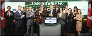 QuoteMedia Opens TSX Photo Credit: TMX