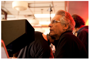 Director David Cronenberg Photo Credit: Telefilm Canada