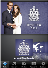 Royal Tour App