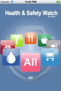 health & safety watch app