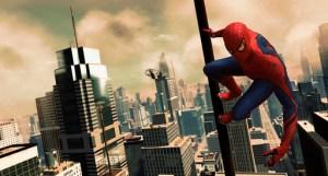 the amazing spider-man overlooks manhattan