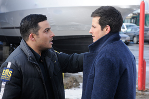 Ennis Esmer and Craig Olejnik in Switch (Photo courtesy of Bell Media)