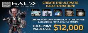 Mega Bloks Halo Toymation Contest is back