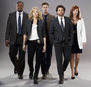 Roger Cross, Kristin Lehman, Brendan Penny, Louis Ferreira, Lauren Holly