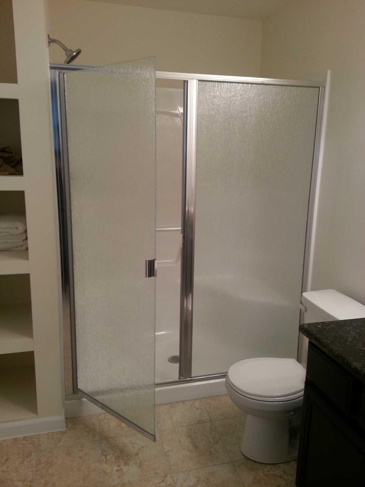 Fiberglass shower enclosures fiberglass shower stalls - Fiberglass shower enclosures ...