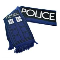 Doctor Who Dr. Who TARDIS 6 Foot Long Scarf Scarves