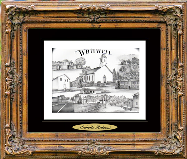 Pencil Drawing of Whitwell, TN