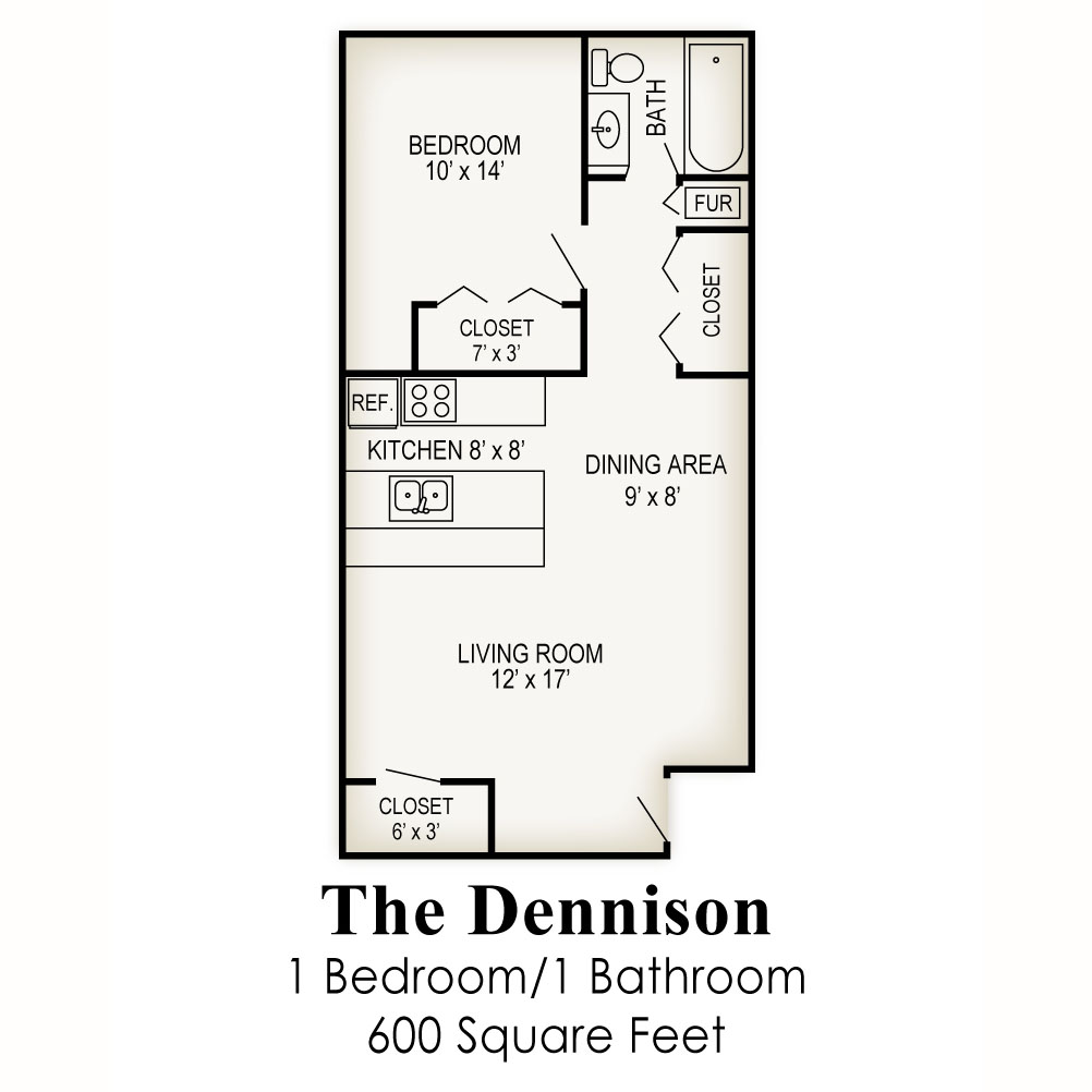 Floor plans village west apartments Master bedroom and bath square footage
