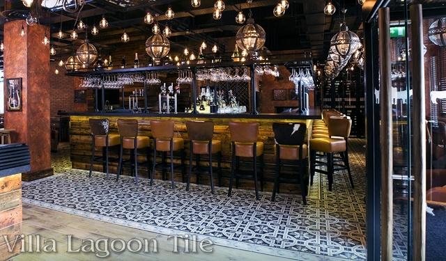 Black Metallic Wallpaper U K Restaurant Borders On Perfection Cement Style