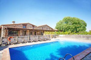 Casa rural Costa Brava cerca de Barcelona 12 habitaciones Villa ca l'Estrada