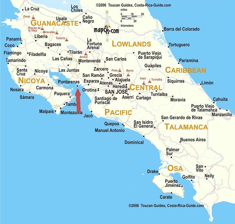 Puntarenas Costa Rica Cruise Port of Call