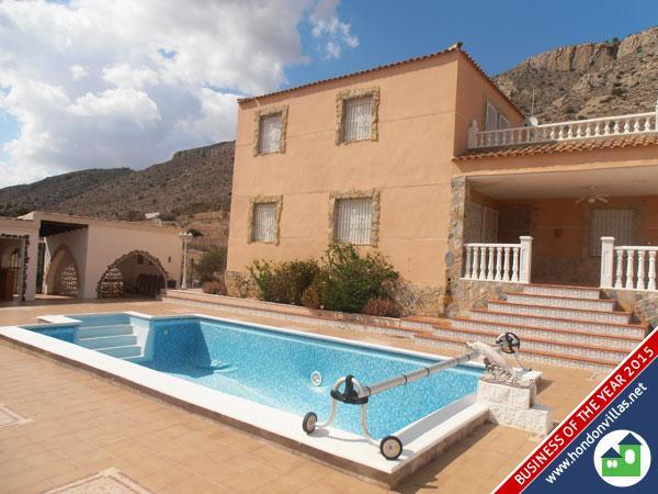 395 Hondon de las Nieves Double Storey Detached Villa
