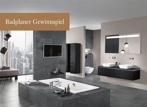 Badplaner - online gestalten - Villeroy \ Boch - badezimmer planen 3d