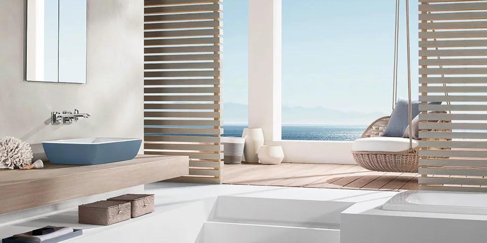 Farbgestaltung im Badezimmer u2013 individuelles Design - Villeroy \ Boch - badezimmer farbgestaltung