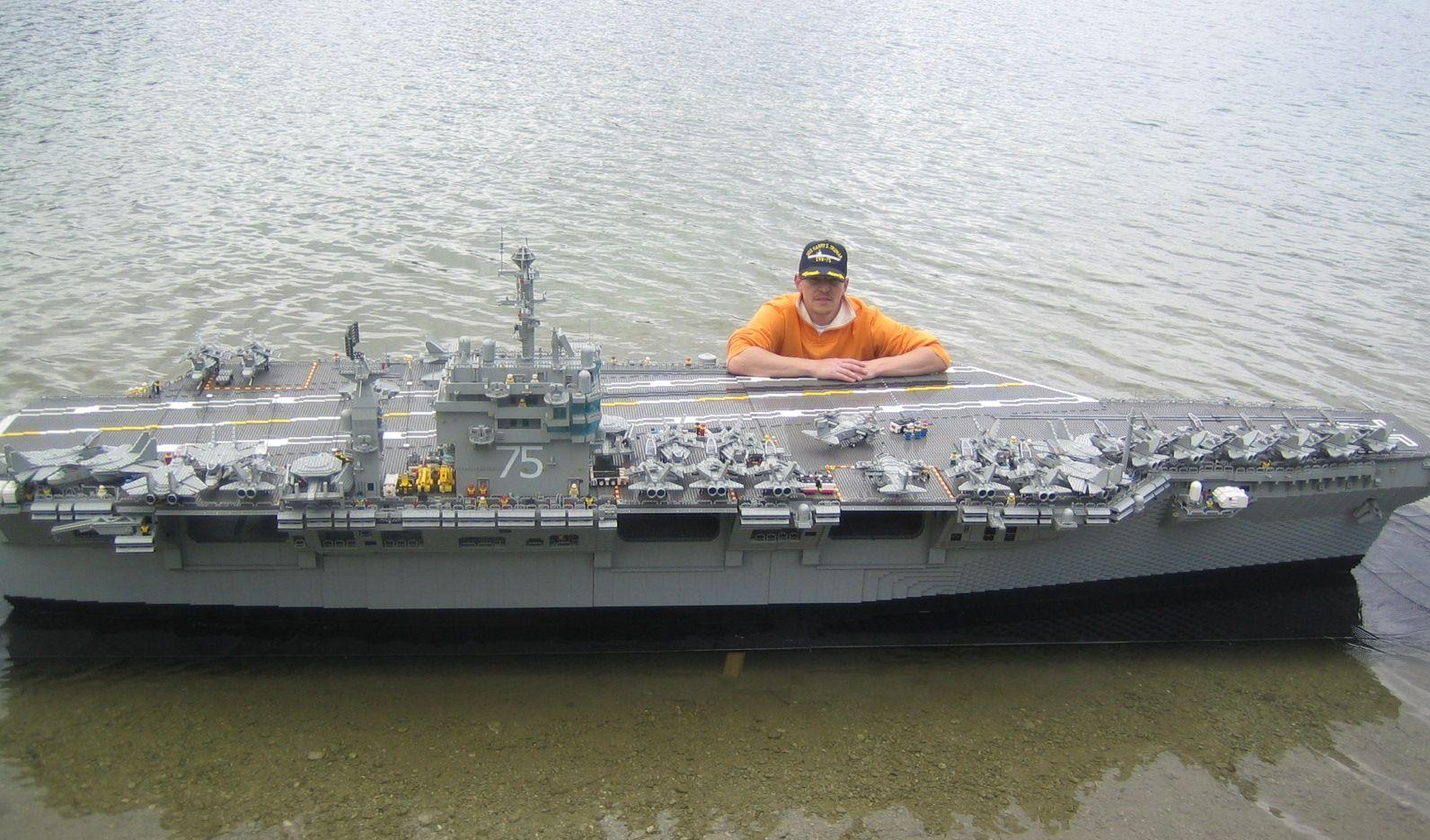 Lego Aircraft Carrier For Sale